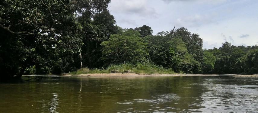 Foto Pulau Inuhan, tempat pertemuan Kahingai, Nusa Tangapm, dan Aman Genali itu