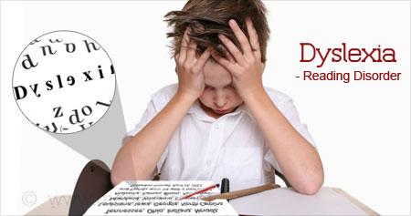 Gangguan belajar atau kesulitan belajar pada anak disleksia adalah sulit membaca dan menulis
