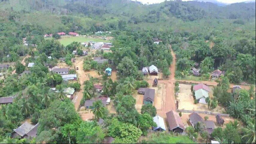Foto Kinipan lewat kamera drone